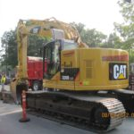 Earthmovers Excavation Vehicle CAT