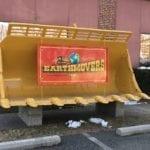 Earthmovers Sign Outside Office