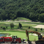Earthmovers Golf Course Excavation Site
