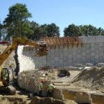 Earthmovers construction site